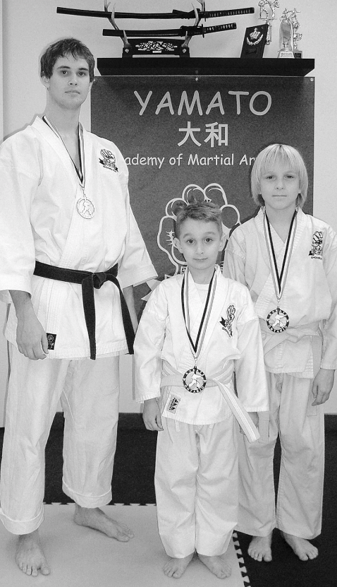 Yamato Students Win Medals at Karate Tourney